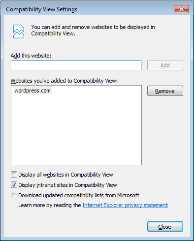 A Guide to IE Compatibility View and X-UA-Compatible | Frank