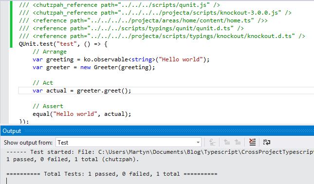 Cross Project TypeScript Unit Testing – Part 2 | Frank Code